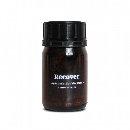 Teministeriet - Ayurveda te - Recover - glassbeholder