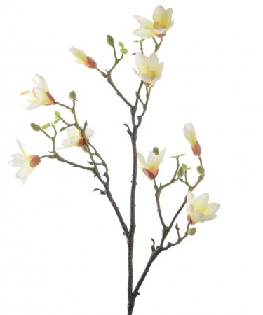 Kunstig magnolia - Soft yellow 90 cm