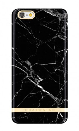 Richmond & Finch - Deksel Black Marble Iphone 6