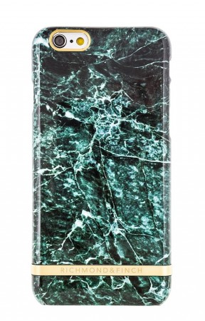 Richmond & Finch - Deksel Green Marble Iphone 6