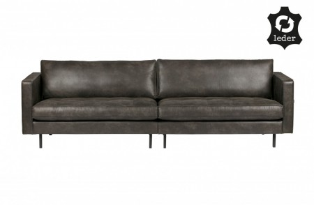 Be Pure Home - Rodeo Classic 3 seter sofa - Sort
