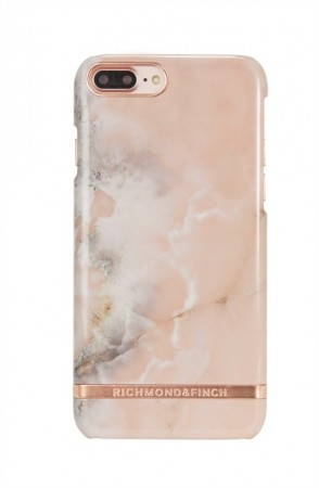 Richmond & Finch - Deksel Pink Marble Iphone 6