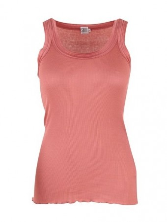 Saint Tropez - Tanktop Ribs - Dusty rose