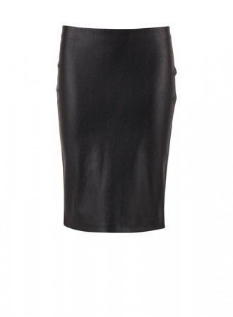 Saint Tropez - Faux leather skirt