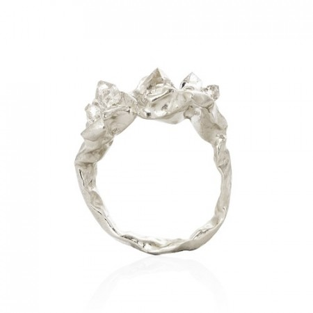Niza Huang- Crush - Engagement Ring - Silver