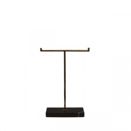 DARK Black Marble Stand - Low