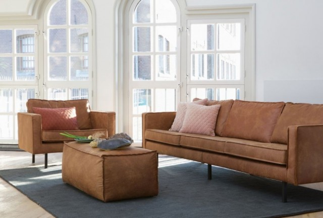 Be Pure Home - Rodeo loungestol - Cognac