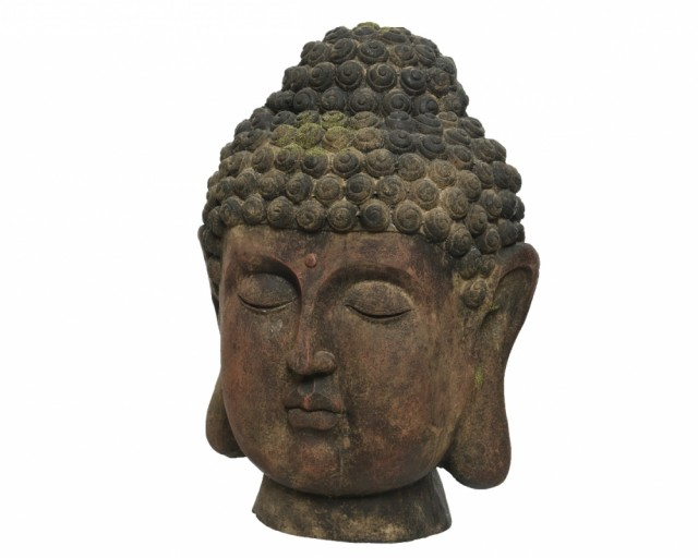 Buddha - Brown washed 69 cm