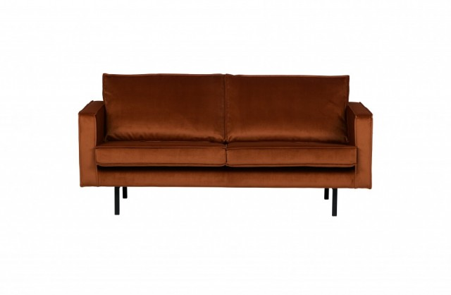 Be Pure Home - Rodeo velvet 2,5 seter - Rust