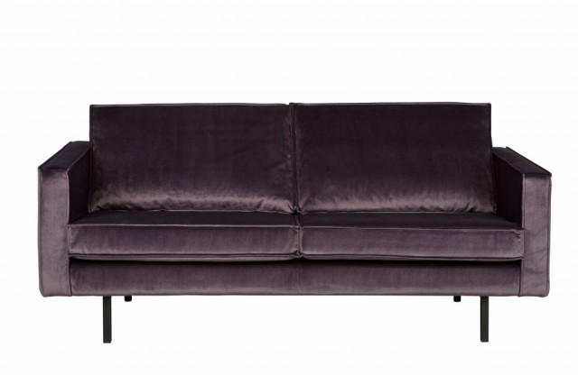 Be Pure Home - Rodeo Velvet 2,5 seter sofa - Grey